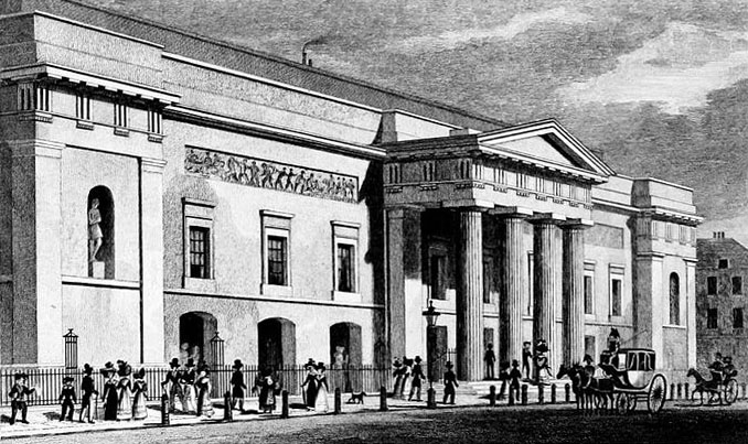 Picture of Covent Garden Theatre 1827-28