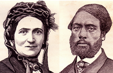 Picture of William and Ellen Craft.