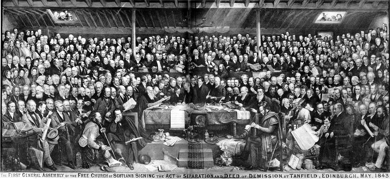 Picture of Creating the Free Church of Scotland