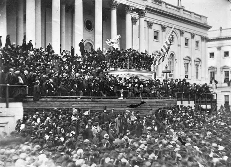 Picture of Lincoln's 2nd Inaugural