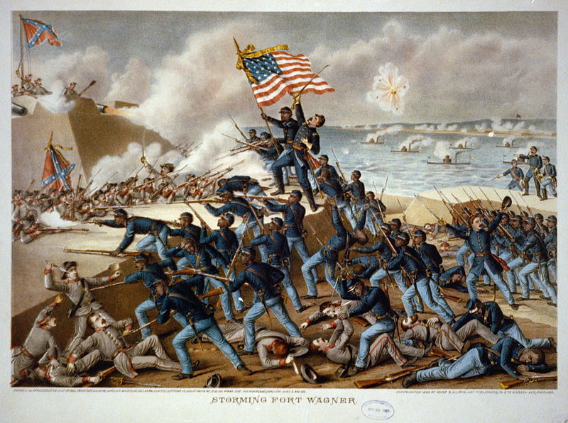 Picture of 54th Massachusetts